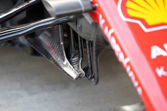Turning vanes del Ferrari SF71H
