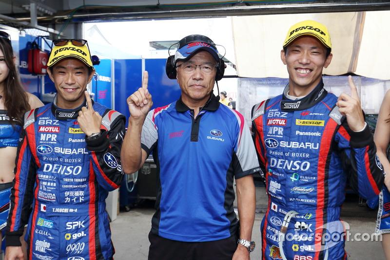 #61 SUBARU BRZ R&D SPORT(Takuto Iguchi dan Hideki Yamauchi)