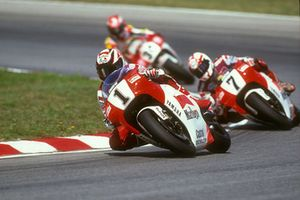 Wayne Rainey's last lap before crashing