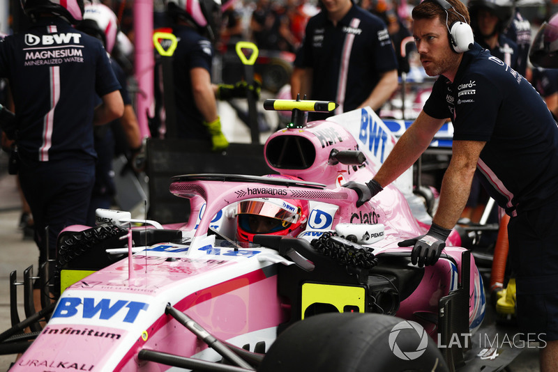 Esteban Ocon, Racing Point Force India VJM11