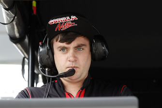 Sebastien Bourdais, Dale Coyne Racing with Vasser-Sullivan Honda engineer