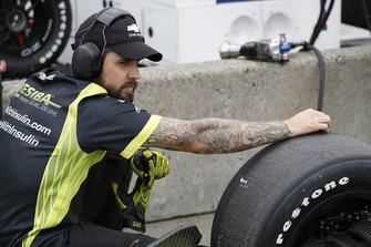 L'équipe d'Alfonso Celis, Jr., Juncos Racing Chevrolet