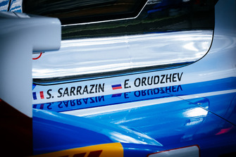 #17 SMP Racing BR Engineering BR1: Stephane Sarrazin, Egor Orudzhev, detail