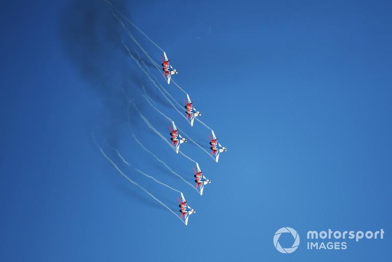 Russian Knights air display