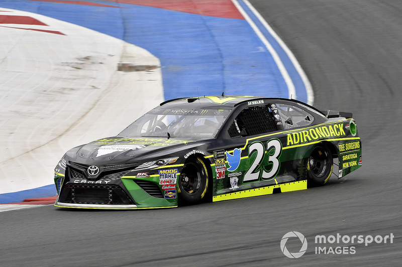 36. J.J. Yeley, BK Racing, Toyota Camry Adirondack Tree Surgeons