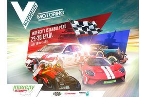 V Weekend Motoring Poster