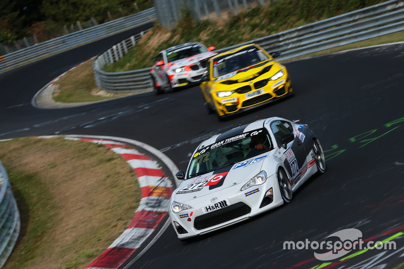#272 Toyota GT86: Alex Fielenbach, Roberto Falcon, Wolfgang Weber