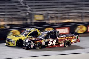 Cody Coughlin, GMS Racing, Chevrolet Silverado JEGS.com, Riley Herbst, DGR-Crosley, Toyota Tundra Advance Auto Parts / Terrible Herbst / NOS / ORCA