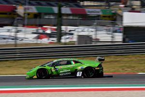 #63 Lamborghini Huracan, Antonelli Motorsport, Zampieri-Altoè