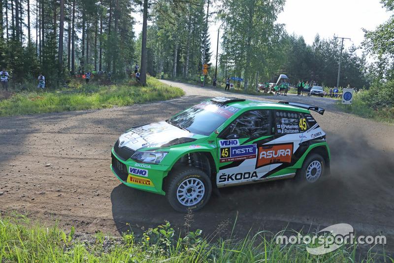 Эрик Пиетаринен и Юхана Райтанен, Škoda Fabia R5