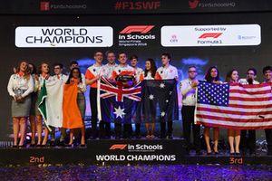 Campioni del Mondo della F1 in Schools