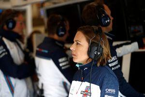 Claire Williams, subdirectora de Williams Martini Racing