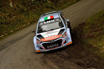 Luigi Fontana, Roberto Mometti Hyundai i20 WRC