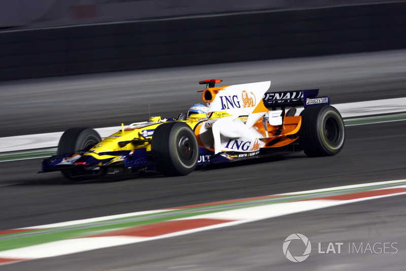 800th race: 2008 Singapore Grand Prix