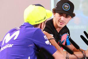 Valentino Rossi, Yamaha Factory Racing, Francesco Bagnaia, Sky Racing Team VR46