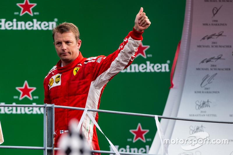 El segundo Kimi Raikkonen, Ferrari