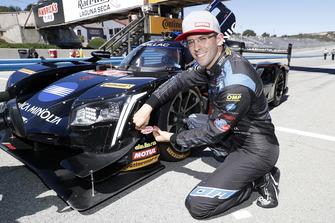 Pole position #10 Wayne Taylor Racing Cadillac DPi, P: Jordan Taylor