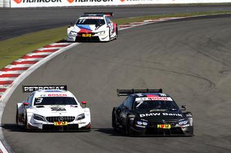 Paul Di Resta, Mercedes-AMG Team HWA, Mercedes-AMG C63 DTM, Bruno Spengler, BMW Team RBM, BMW M4 DTM