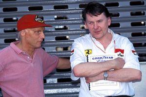 John Barnard, Ferrari ve Niki Lauda