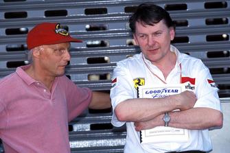 John Barnard, Ferrari con Niki Lauda