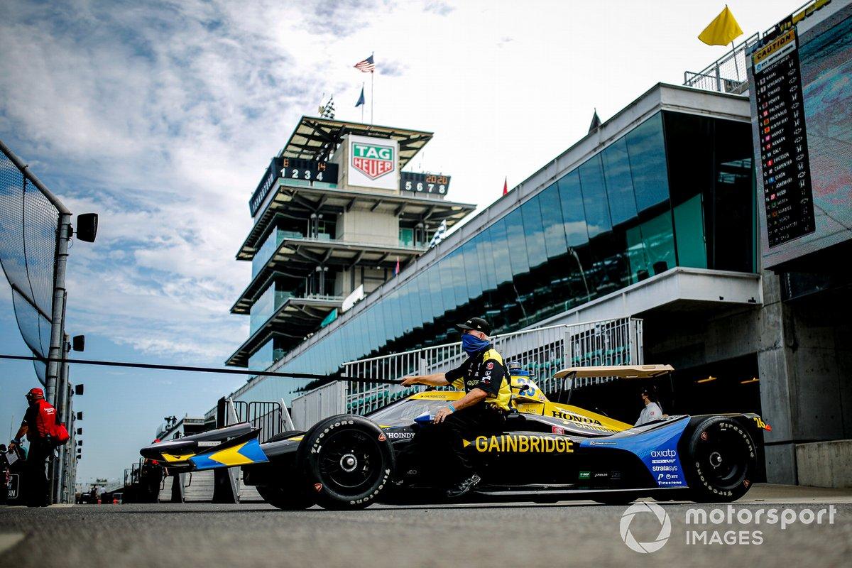 Zach Veach, Andretti Autosport Honda