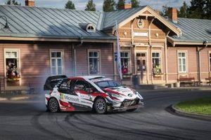 Ott Tanak, Martin Jarveoja, Toyota Yaris WRC