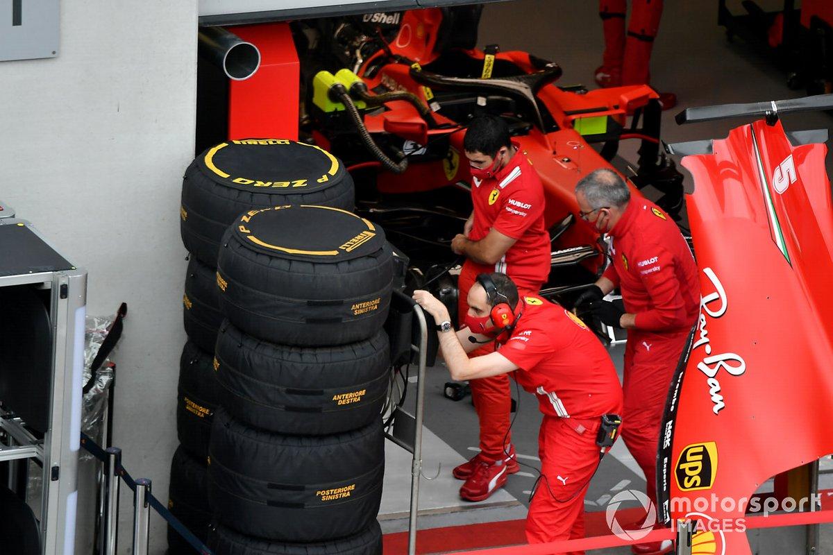 Ferrari get ready
