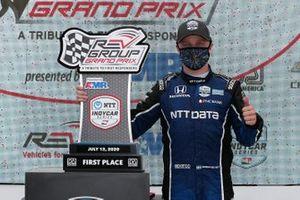 Yarış galibi Felix Rosenqvist, Chip Ganassi Racing Honda