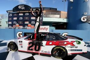 Race Winner Harrison Burton, Joe Gibbs Racing, Toyota Supra