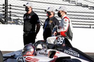 Marco Andretti, Andretti Herta with Marco & Curb-Agajanian Honda with Michael Andretti and Bryan Herta