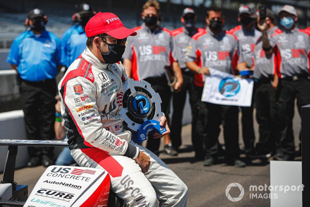 Marco Andretti, Andretti Herta with Marco & Curb-Agajanian Honda, autor de la pole de la Indy 500 2020