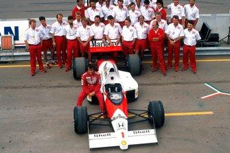 Formel-1-Weltmeister 1989: Alain Prost, McLaren MP4/5