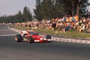 Jacky Ickx, Ferrari 312B followed by Jackie Stewart, Tyrrell 001 Ford