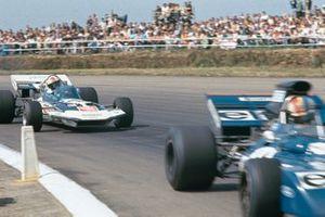 Francois Cevert, Tyrrell 002, Rolf Stommelen, Surtees TS9 Ford, GP di Gran Bretagna del 1971, GP di Gran Bretagna del 1971