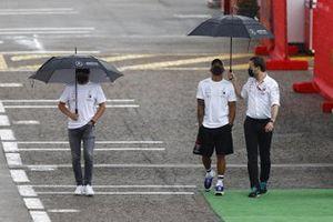 Valtteri Bottas, Mercedes-AMG Petronas F1 and Lewis Hamilton, Mercedes-AMG Petronas F1