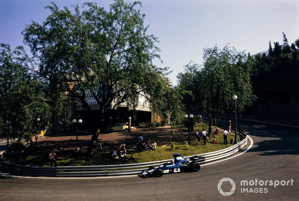 Montjuic's hairpins and cambered turns were reminiscent of Monaco