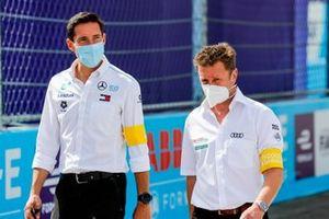 Ian James, Team Principal, Mercedes-Benz EQ , Allan McNish, Team Principal, Audi Sport Abt Schaeffler