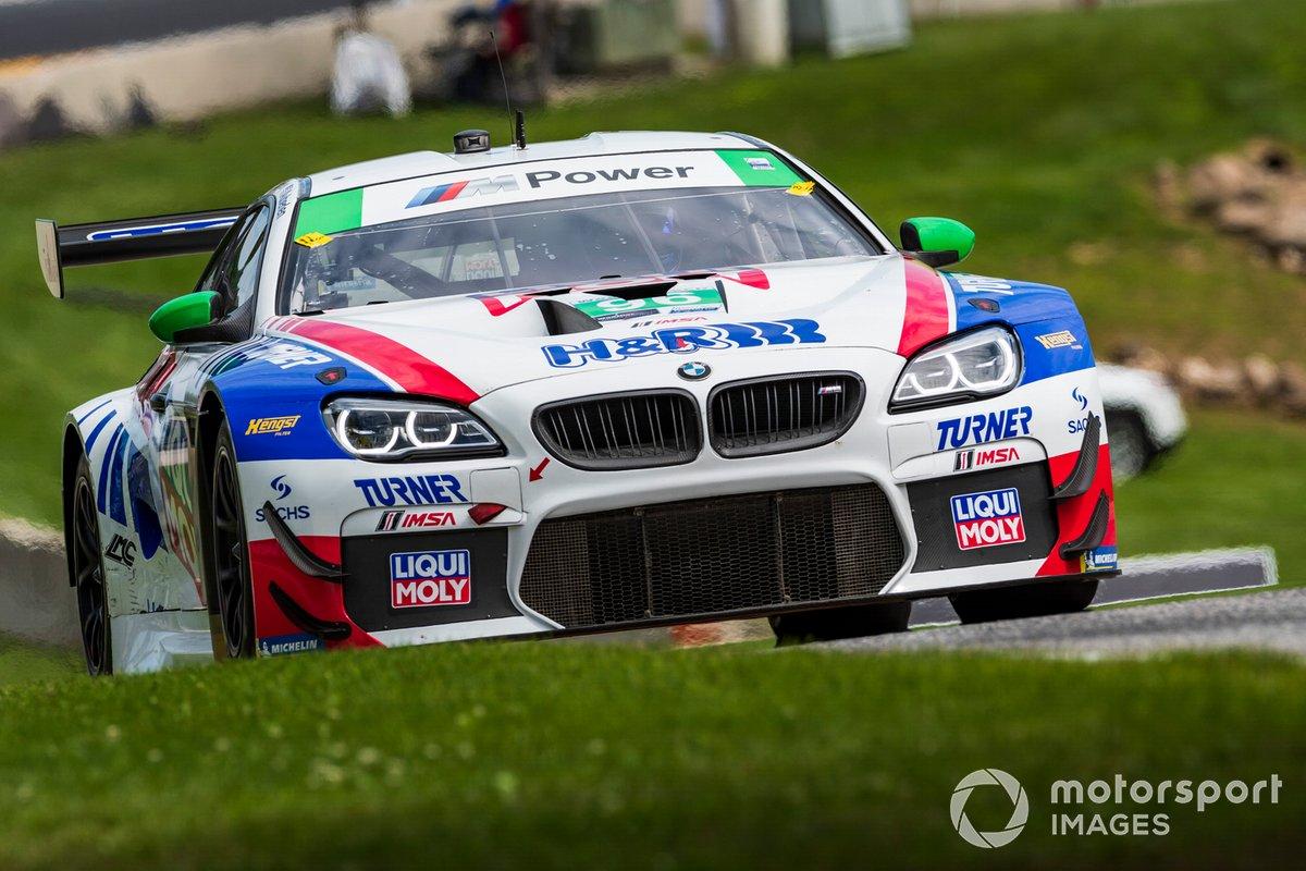 #96 Turner Motorsport BMW M6 GT3, GTD: Robby Foley III, Bill Auberlen, Peter Burke