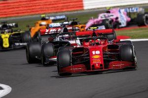 Charles Leclerc, Ferrari SF1000, Romain Grosjean, Haas VF-20, Daniel Ricciardo, Renault F1 Team R.S.20