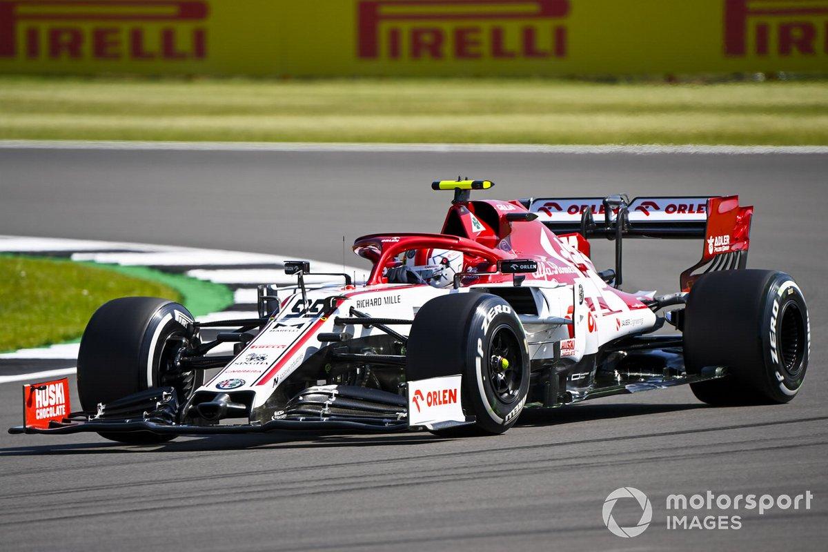Antonio Giovinazzi, Alfa Romeo Racing: 5 puan