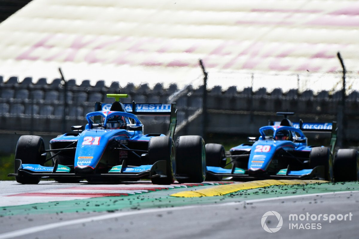 Federico Malvestiti, Jenzer Motorsport y Calan Williams, Jenzer Motorsport