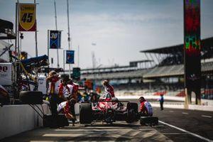 Spencer Pigot, Rahal Letterman Lanigan Racing w/ Citrone/Buhl Autosport Honda, crew members