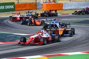 Oscar Piastri, Prema Racing, Alexander Peroni, Campos Racing e Matteo Nannini, Jenzer Motorsport