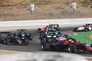 Lirim Zendeli, Trident, Jack Doohan, Hwa Racelab And Cameron Das, Carlin Buzz Racing