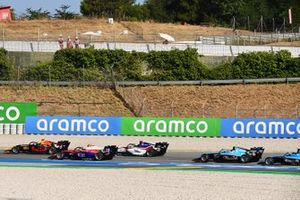 Dennis Hauger, Hitech Grand Prix, Oliver Caldwell, Trident David Schumacher, Charouz Racing System And Federico Malvestiti, Jenzer Motorsport