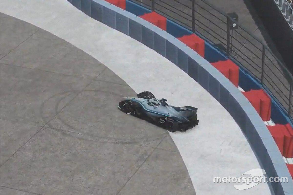 Champion Stoffel Vandoorne, Mercedes Benz EQ