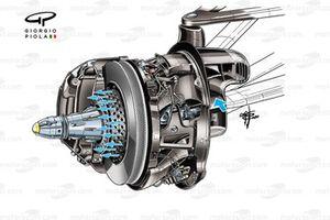Disco freno, della Mercedes AMG F1 W11