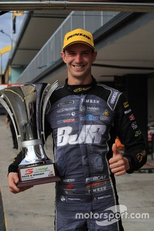 Race winner Nick Percat, Brad Jones Racing Holden