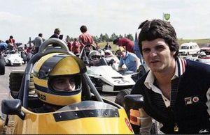 Ayrton Senna e Chico Serra