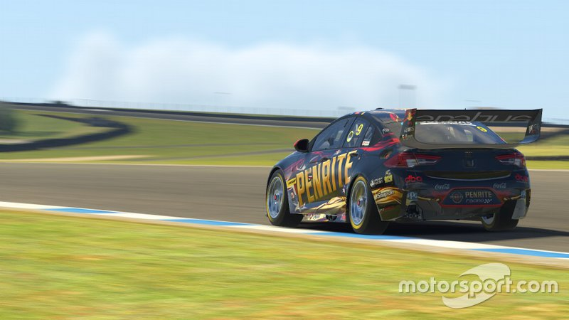 Digital render of David Reynolds' Erebus Motorsport Holden Commodore